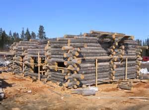 maison en rondins de bois 1