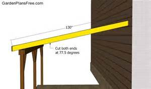order lock the ledger tightly into place recommend you carport plans build faster amp easier way