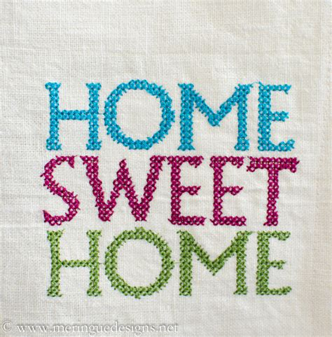 home patterns meringue designs cross stitch home sweet home