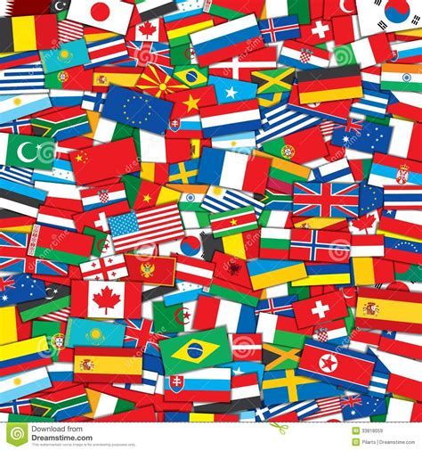 world flag templates world flags background eps10 vector template royalty free