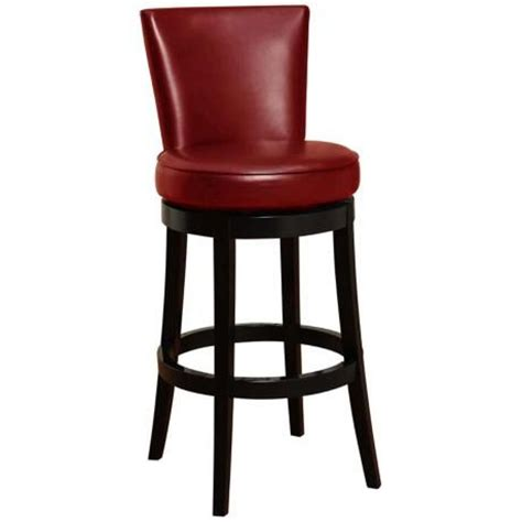 30 leather bar stools boston 30 quot high red leather swivel bar stool