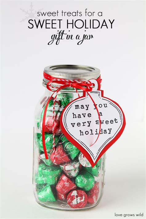 sweet treats for a sweet holiday gift in a jar perfect