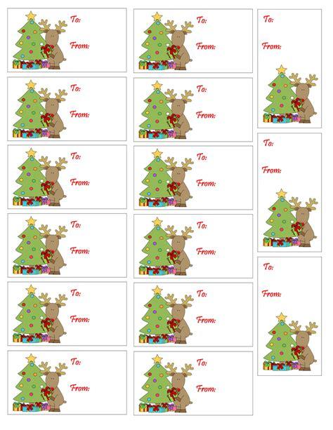 printable rudolph gift tags printable christmas gift tag reindeer christmas tree