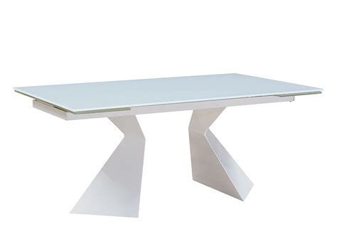 Modern Dining Table Base Glass Top Extendable Dining Table Ef92 Modern Dining