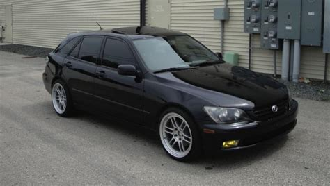 lexus is300 stance fs ft lexus sportcross hatchback wagon is300 black and