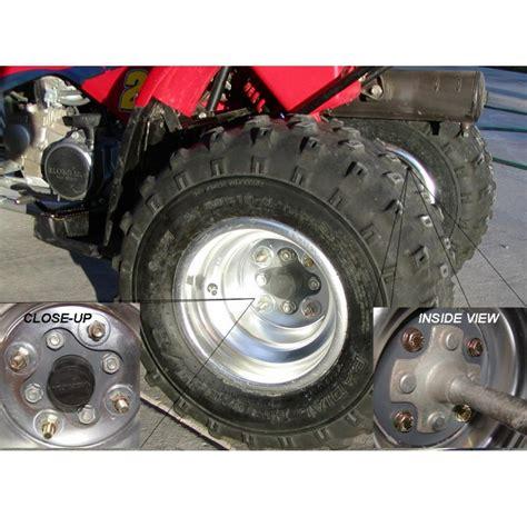 honda trx   rear wheels conversion kit xmm yamaha bolt pattern