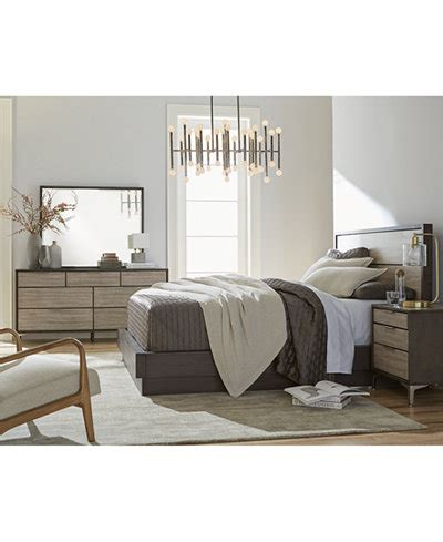 Macy Bedroom Furniture Closeout closeout adler platform bedroom furniture collection