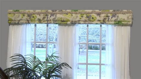 simple window treatments deco wrap easy cornice and panel style windows deco wrap