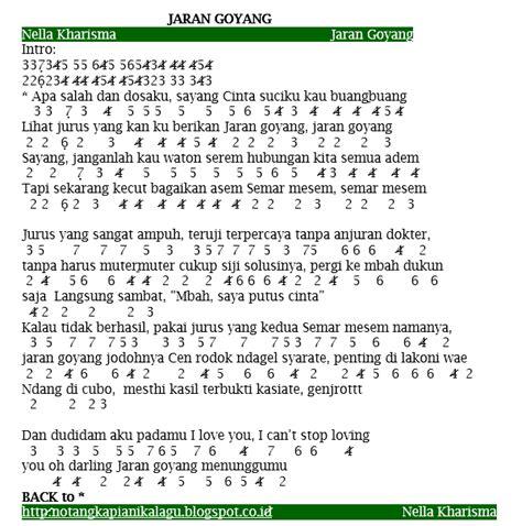 angka lagu nella kharisma jaran goyang