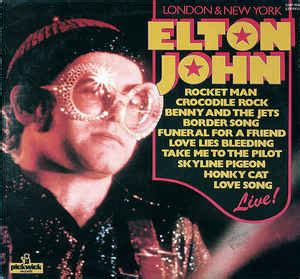elton john new york elton john london new york vinyl lp album reissue