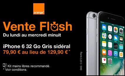 iphone 6 32go l iphone 6 32go en vente flash chez orange remise exceptionnelle de 50 euros