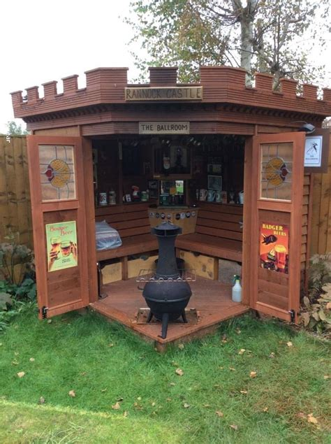images  cool  quirky sheds  pinterest