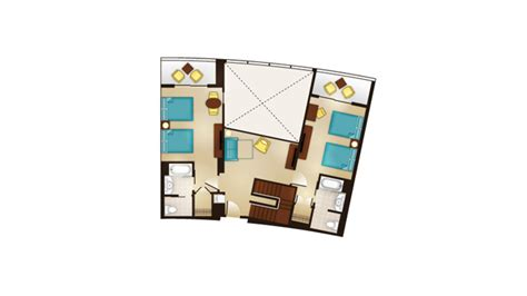 bay lake tower deluxe studio floor plan dvc bay lake tower resales point charts videos