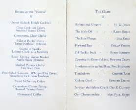 banquet program template bygone walla walla vintage images of the city and county