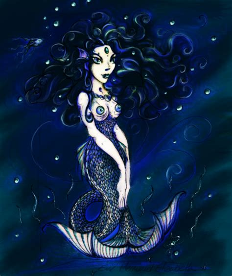 evil mermaid elizabeth by pookaheart on deviantart