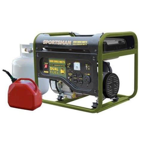 sportsman 801323 4000 watt dual fuel hybrid portable