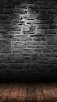 Dark Brick Wall by Dark Brick Wall Wood Floor Android Wallpaper Free Download