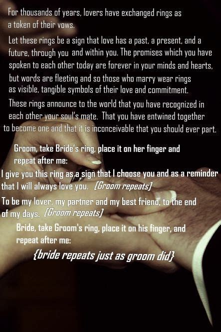 Wedding Ceremony I Do Script by Since It S Not Going To Be A Religious Ceremony This Is