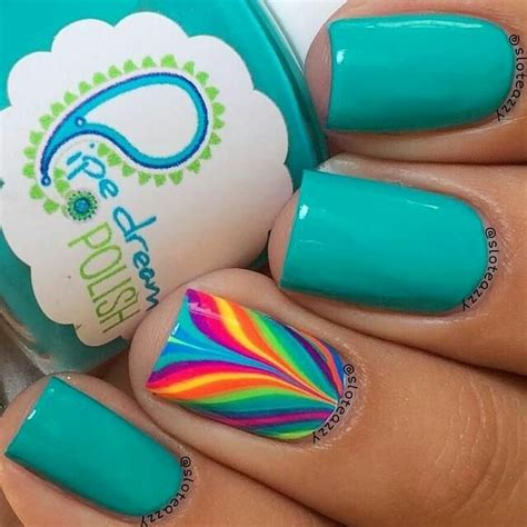 In A Nail Polishing Rut by 25 Best Ideas About Teal Nail On