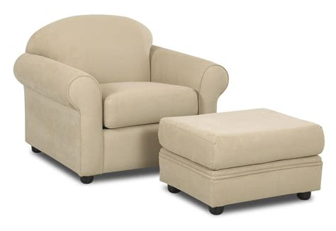 contemporary chair and ottoman set klaussner possibilities contemporary chair and ottoman set