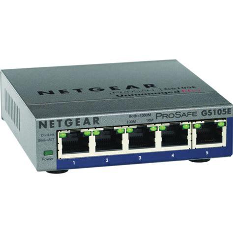 netgear prosafe 5 port netgear prosafe plus 5 port gigabit ethernet switch