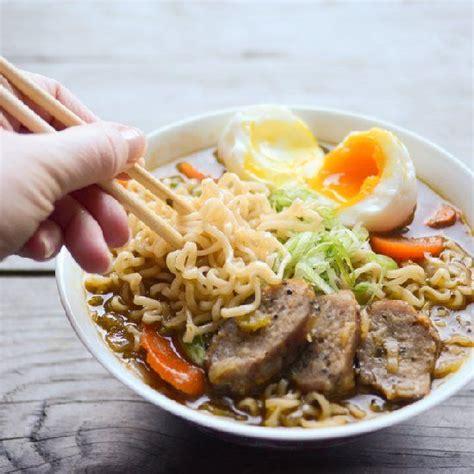 Handmade Ramen Noodles - ramen noodle soup nom noms