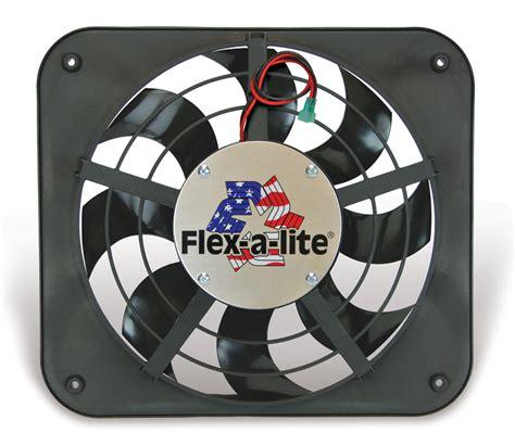 low profile electric radiator fan flexalite 111 electric fan 12 quot low profile