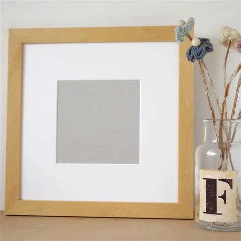 Handmade Wooden Picture Frames - handmade wooden picture frame by milly and pip