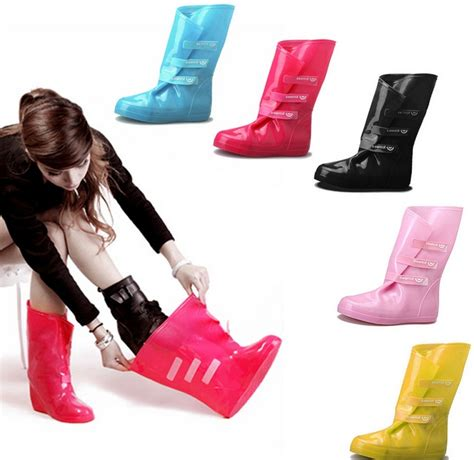 s pvc material overshoes special anti skid slip