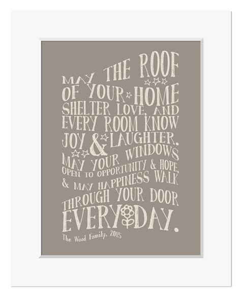 house prints moving house gift personalised new home prints