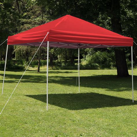 Tent Shelter Canopy Sunnydaze Up Instant Canopy Event Tent Shelter W
