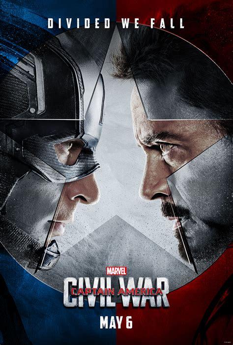 film captain america marvel captain america civil war posters make the fight personal