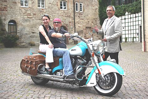 Indian Motorrad Importeur by Indian Motorr 228 Der Auf Schloss Waldeck Am Edersee Im