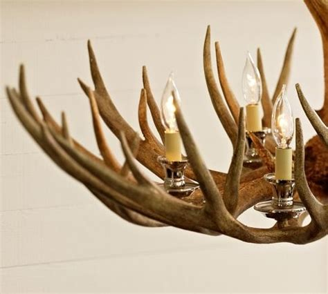 Pottery Barn Antler Chandelier Faux Antler Chandelier Pottery Barn Coffee Shop Dreams Antler Chandelier