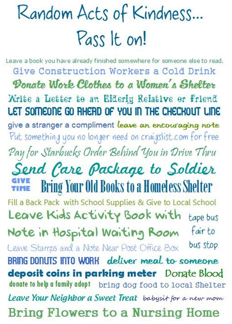 7 Great Acts Of Kindness You Can Copy by 60 Best Acts Of Kindness Images On Acts Of
