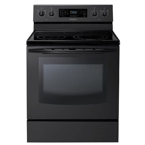 samsung electric range samsung 5 9 cu ft electric range stove w true convection black ebay