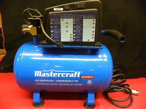 mastercraft 3 gallon air compressor city