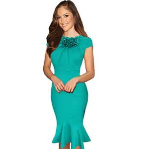 office dresses 2015 summer office dress floral mermaid tunic casual