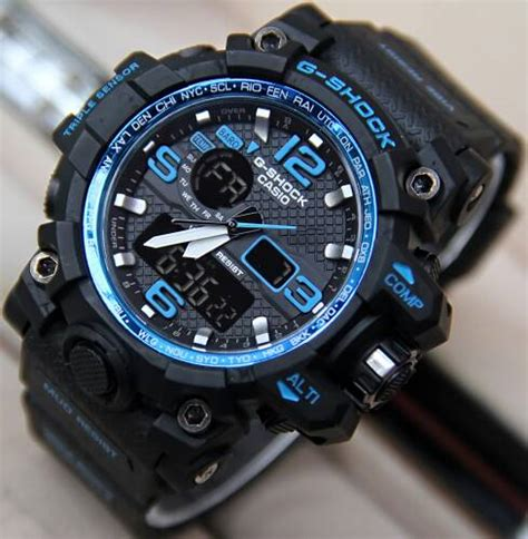 Jam Tangan Pria Reddington Bj431 Original Black Orange T jual jam tangan g shock gpw1000 mudmaster dualtime g shock