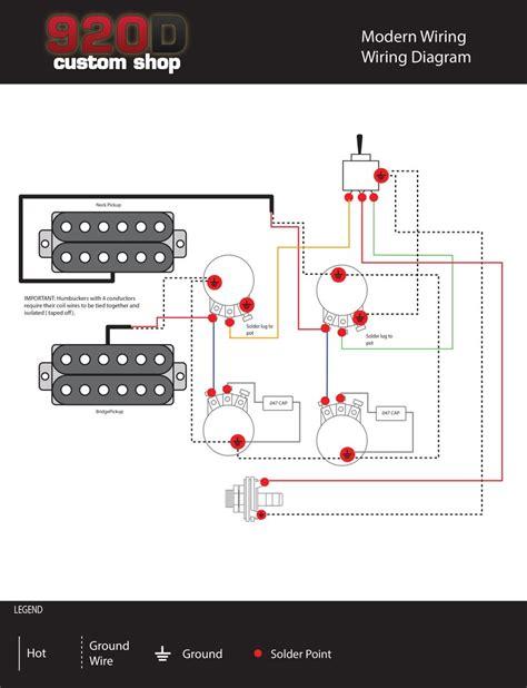 diagrams les paul modern wiring sigler