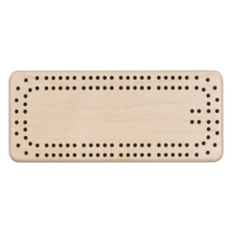 blank template cribbage boards zazzle