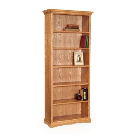 traditional 78 quot bookcase amish traditional 78 quot bookcase