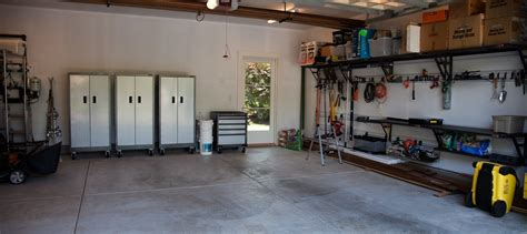 how to easily clean and organize your garage infographic