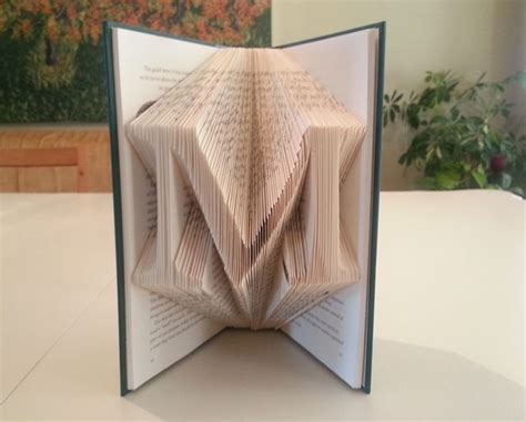 Book Origami Letters - best 25 folded book ideas on book