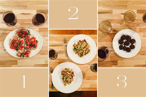 3 course dinner ideas course meal what s on your plate images frompo