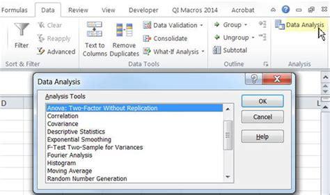 excel 2010 analysis toolpak tutorial excel data analysis toolpak vs qi macros