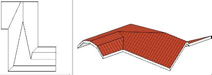 calcolo volume tetto a padiglione strumenti architettura gt tetto gt crea tetto