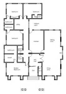 House Plan Builder House Plans Ghana Holla 4 Bedroom House Plan In Ghana