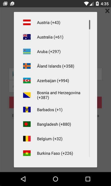 android number picker github heetch android country picker