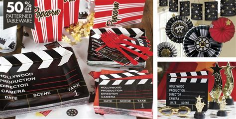themed birthday decorations clapboard theme supplies city